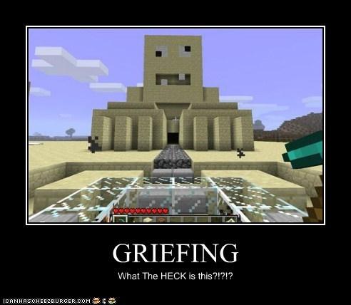 derp griefing minecraft Videogames - 5637441536