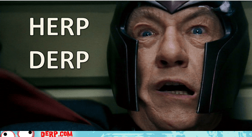 herp derp Magneto Movies and Telederp x men - 5637729280