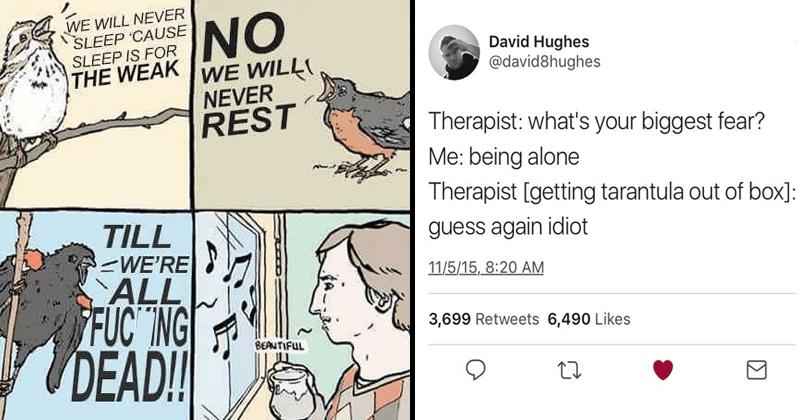 Funny memes, dank memes, funny tweets, funny comics.