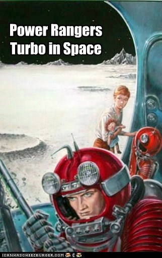Power Rangers Turbo in Space