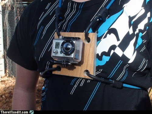 camera DIY GoPro mount - 5640344832