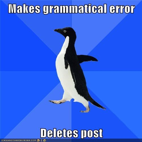 delete,post,socially awkward,socially awkward penguin