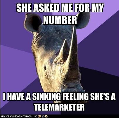 Sexually Oblivio Sexually Oblivious Rhino - 5641163776