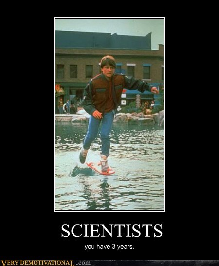 hoverboard marty mcfly Pure Awesome scientists - 5641903872