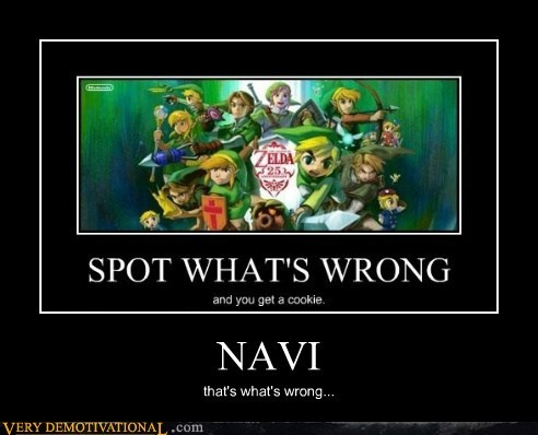 hilarious navi video games wrong zelda - 5641965312