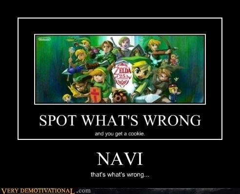 hilarious navi video games wrong zelda