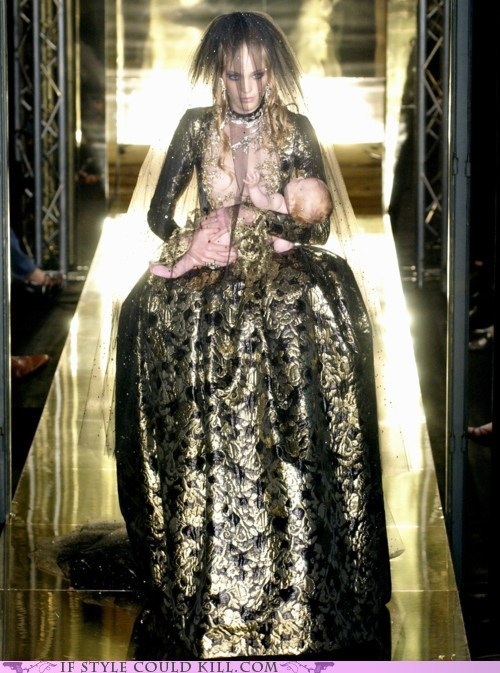 Babies,cool accessories,gowns,runway