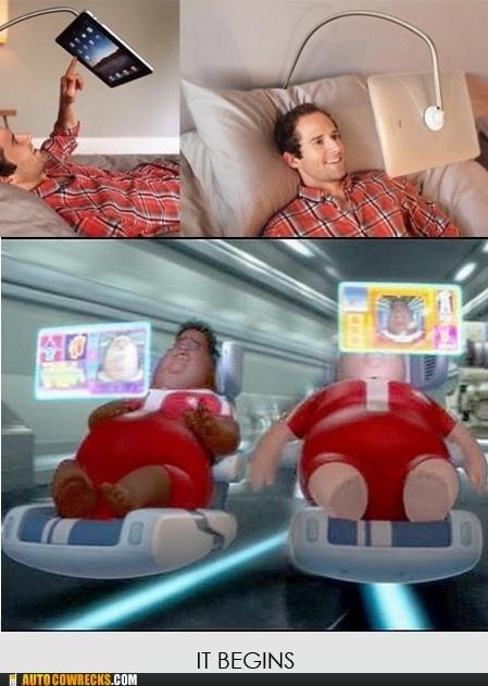 fat Hall of Fame ipad lazy - 5642621696