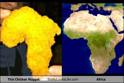 africa chicken nugget funny TLL - 5642810112