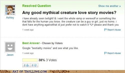 animal love love story movies Yahoo Answer Fails - 5643063808