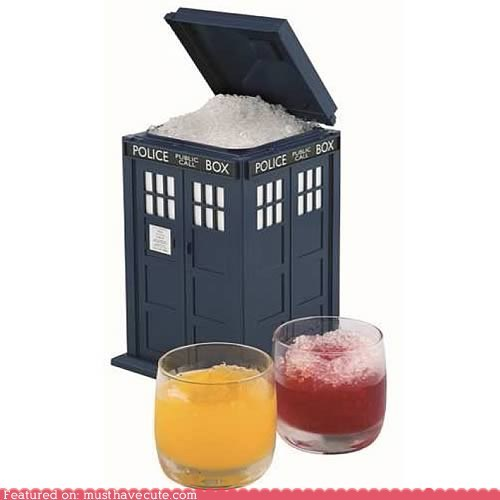 best of the week doctor who drinks ice bucket tardis - 5643097344