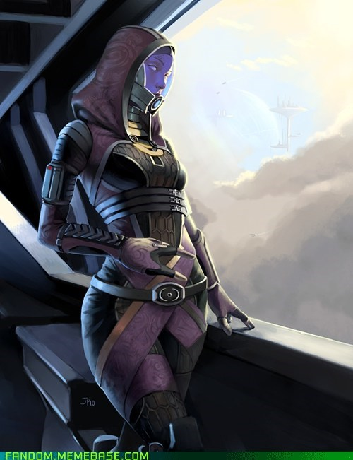 Fan Art mass effect tali video games - 5643109632