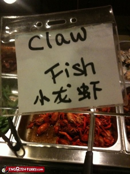 accurate claw fish lobster technically accurate