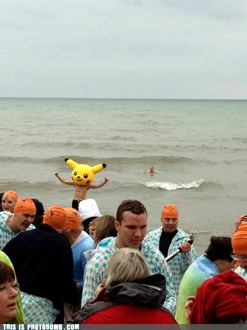 arguing awesome beach dwim caps pikachu - 5644576768