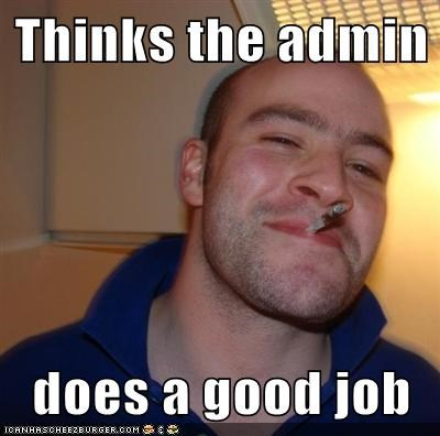 admin,Good Guy Greg,good job,wtf
