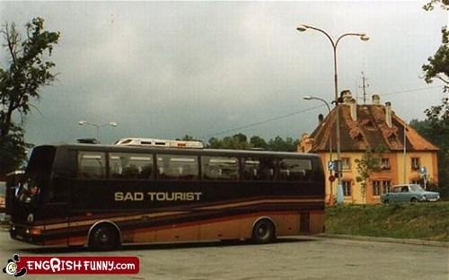 Hall of Fame sad tourist tour bus worst ever - 5644678656