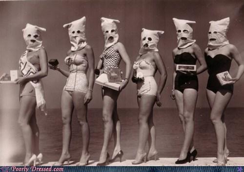 bags on heads Nightmare Beach scary women - 5644702208