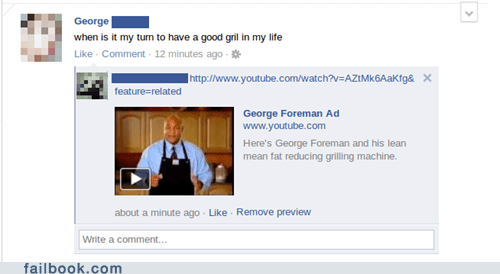 dating george foreman spelling your friends are laughing at you - 5644745472