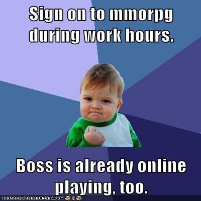 boss mmorpg success kid video games work - 5644779264