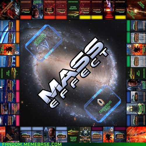 best of week board games Fan Art fandom mass effect monopoly video games - 5644919808