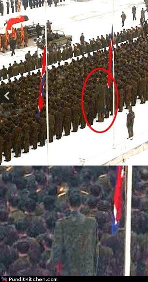 funeral Kim Jong-Il North Korea political pictures tall soldier - 5644934656