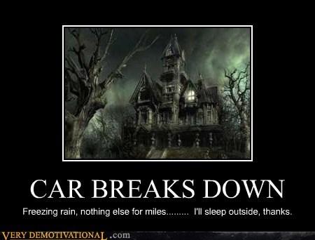car hilarious house scary - 5644940032
