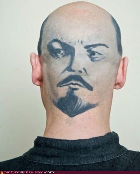 head,lenin,mind,wtf