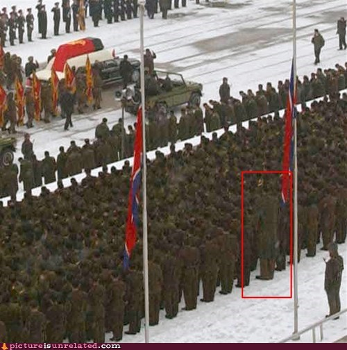 giant North Korea soldier wtf