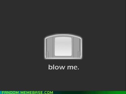 blow cartridge dust fandom It Came From the Interwebz n64 video games - 5645293824