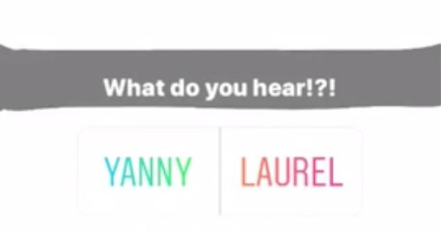 Yanny or laurel debate, blue or gold dress, yanny vs laurel, yanny, laurel.