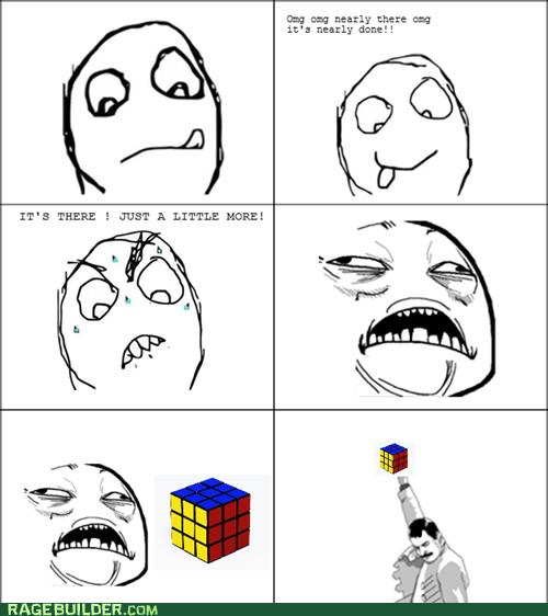 freddie,Rage Comics,rubix cube,sweet jesus have mercy
