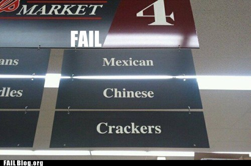 fail nation g rated grocery store Professional At Work thats-racist - 5645598208