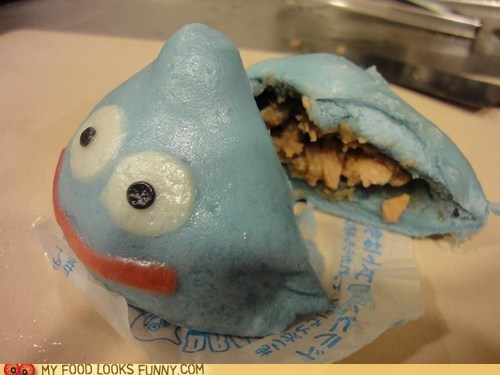 blue bun doragon quest dough meat meat bun slime - 5645747968