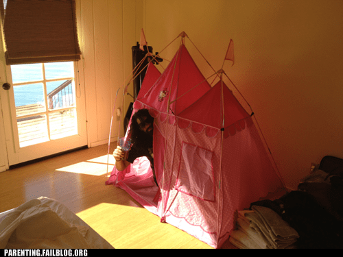 alcohol dad drunk fort Parenting Fail tent - 5645760512
