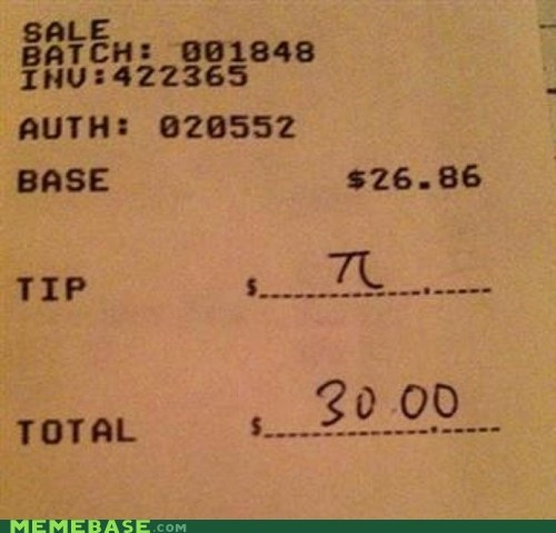 IRL,pi,receipt,tip