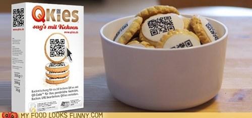 cookies,icing,QR code,scan,secrets,smartphone