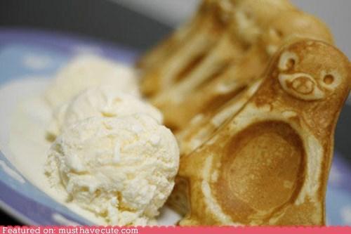 epicute ice cream penguin waffles - 5645819648