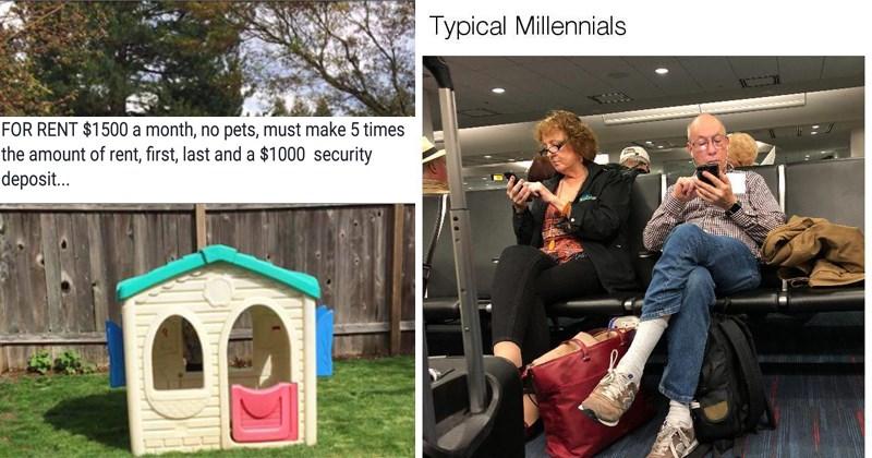 millennial tweets millennial memes gen y memes gen y millennials generation y millennial stereotypes funny stereotypes memes about millennials young people avocado toast generations baby boomers - 5645829
