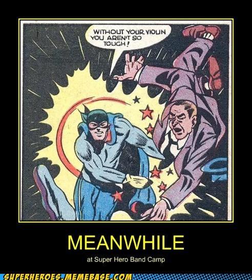 super villain,Super-Lols,violin,wtf