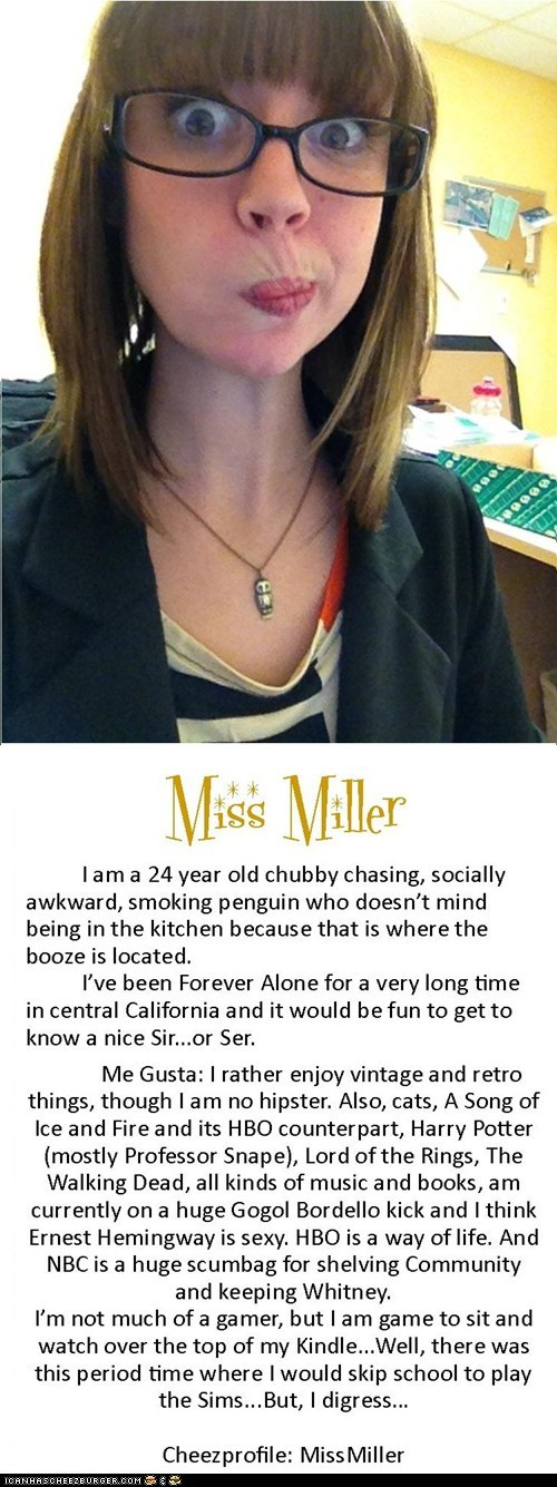 Miss Miller the Chubby Chaser