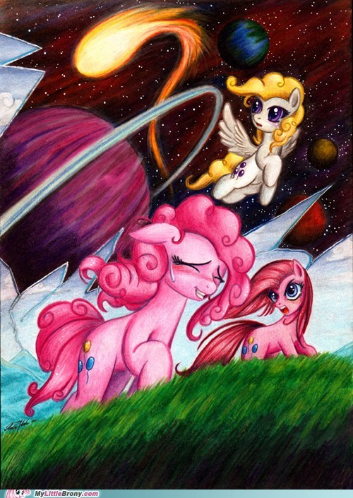 amazing art everywhere pinkie pie - 5646635264