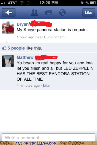 facebook,imma let you finish,kanye,pandora