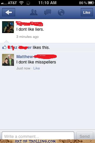 dislikes facebook likes spelling - 5647333632