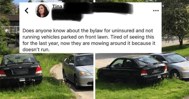 quit your bullshit neighbors lying facebook social media ridiculous - 5647365