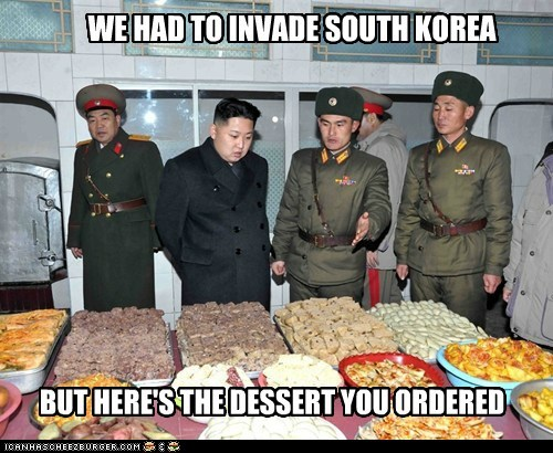 dessert kim jong-un North Korea political pictures - 5647715840