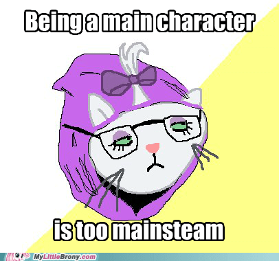 hipster cat mane character meme Opalescence ponify - 5648243968