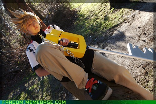 cosplay kingdom hearts roxas video games - 5648246528