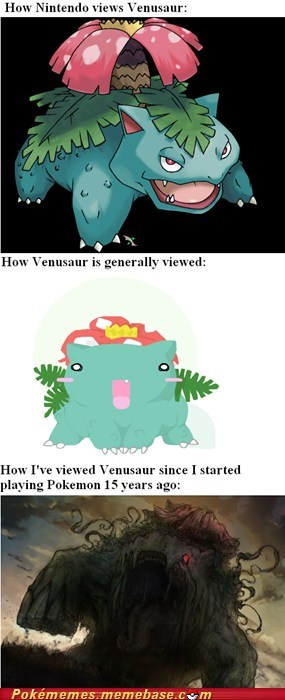 art bulbasaur comic evolution how i view Memes saurs - 5648330752