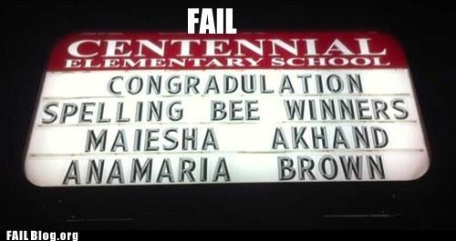 irony school signs spelling - 5649224960