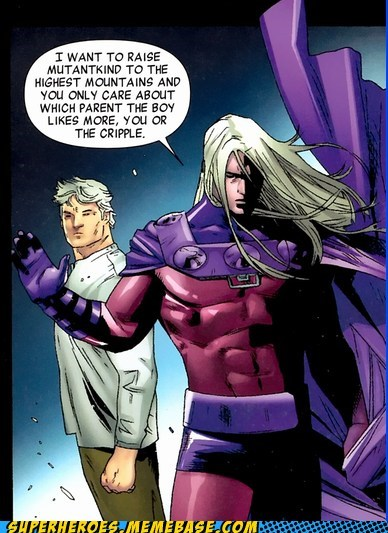 charles xavier Magneto son Straight off the Page whiney - 5649255168